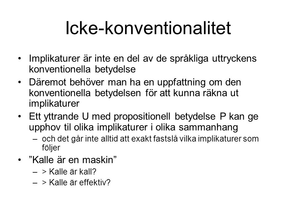 Icke-konventionalitet