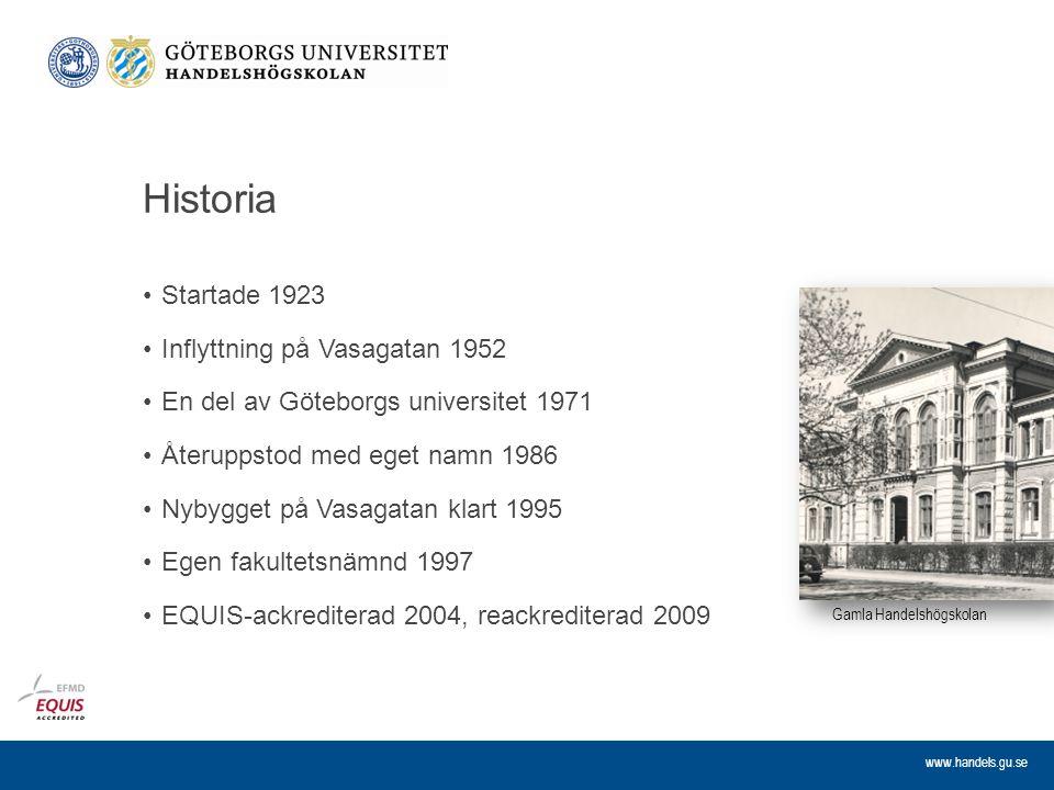 Historia Startade 1923 Inflyttning på Vasagatan 1952