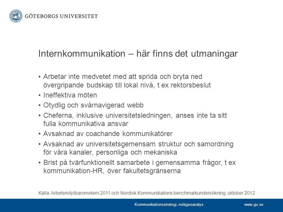 Internkommunikation – här finns det utmaningar