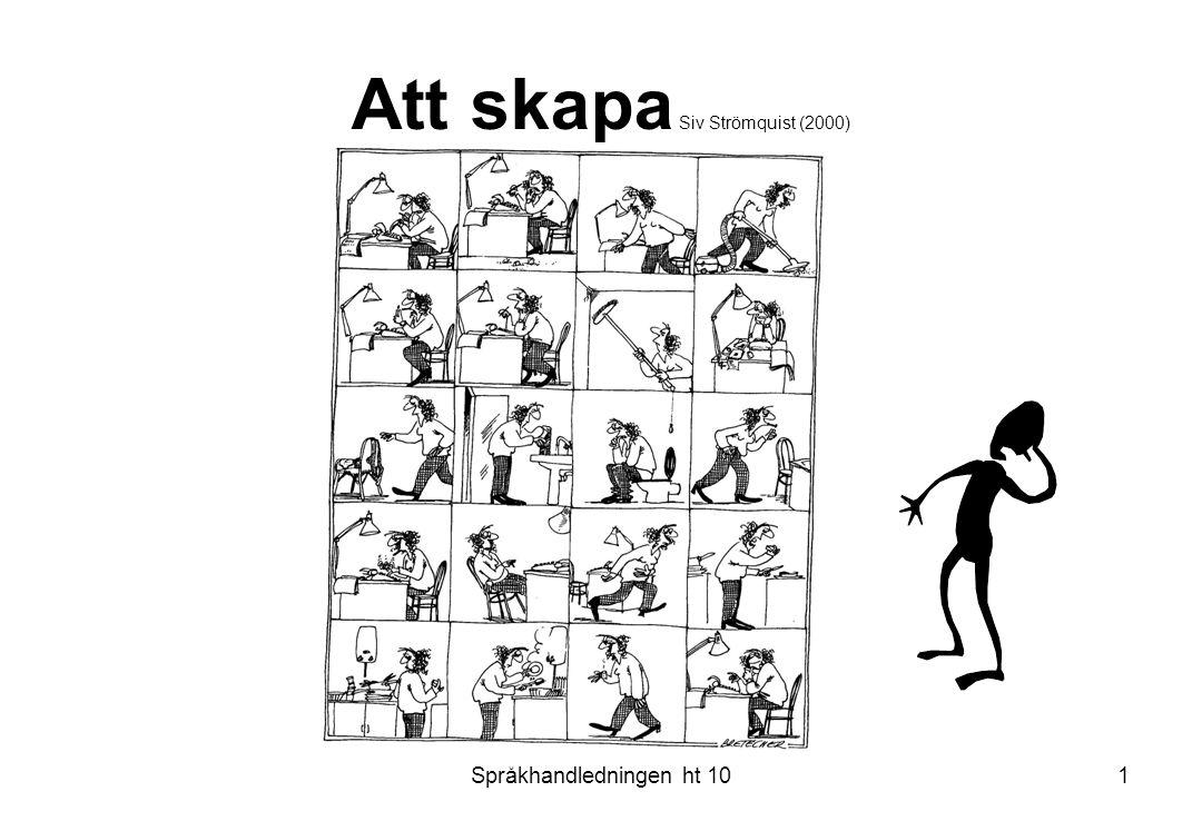Att skapa Siv Strömquist (2000)
