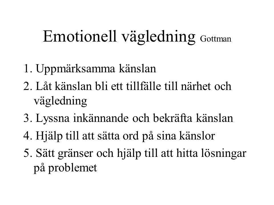 Emotionell vägledning Gottman