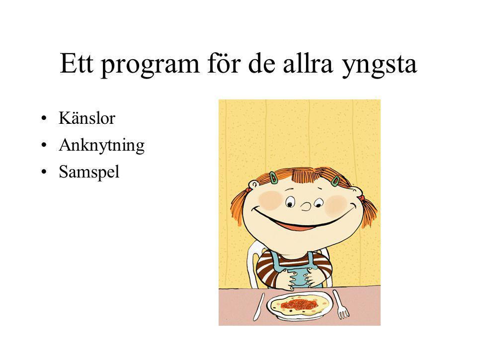 Ett program för de allra yngsta