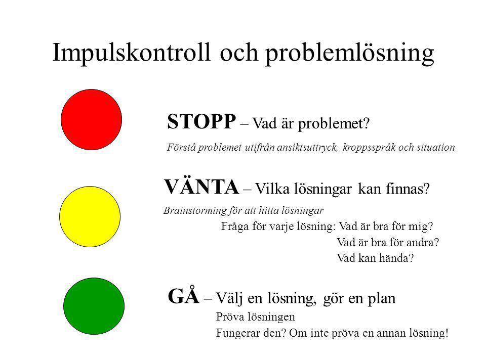 Impulskontroll och problemlösning