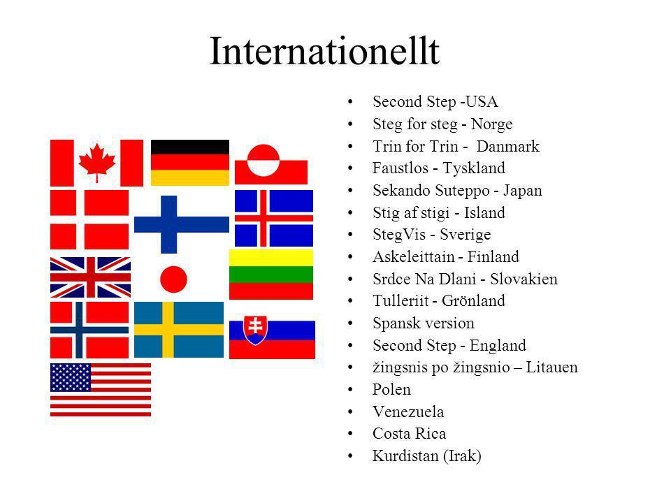 Internationellt Second Step -USA Steg for steg - Norge