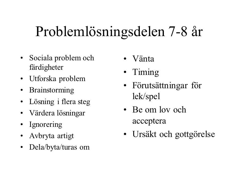 Problemlösningsdelen 7-8 år