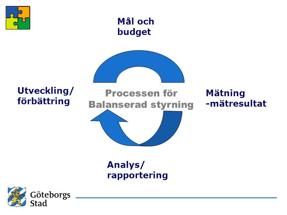 Processen för Balanserad styrning