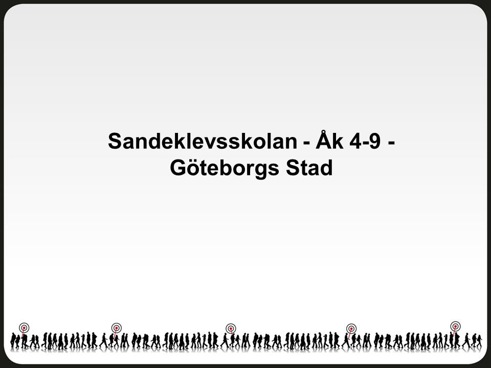 Sandeklevsskolan - Åk 4-9 - Göteborgs Stad