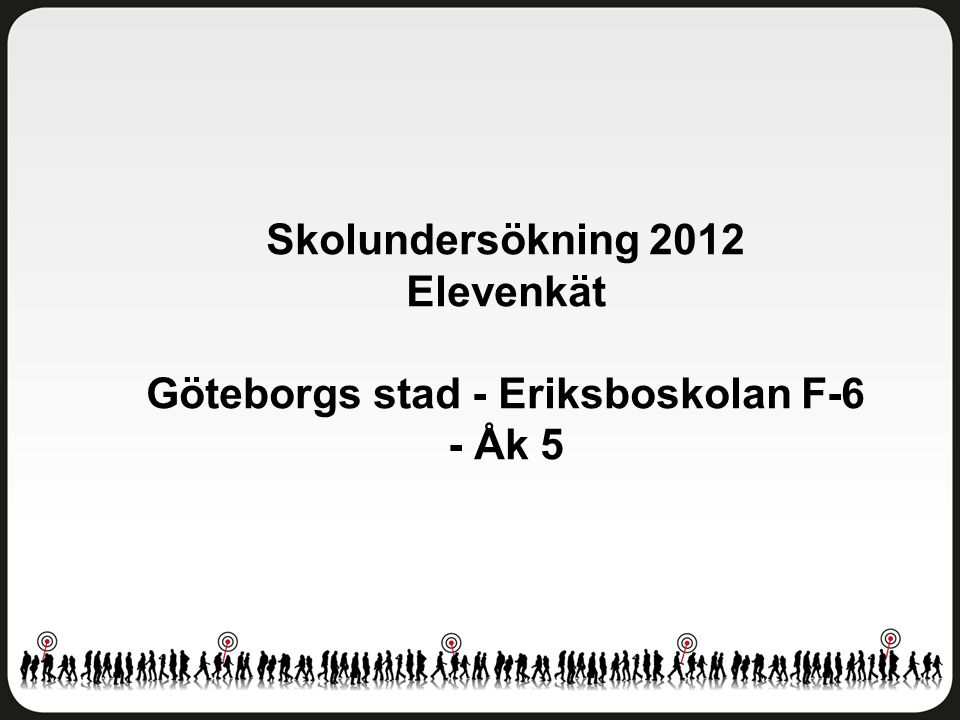 Göteborgs stad - Eriksboskolan F-6 - Åk 5