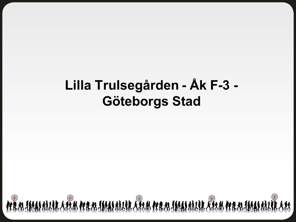 Lilla Trulsegården - Åk F-3 - Göteborgs Stad