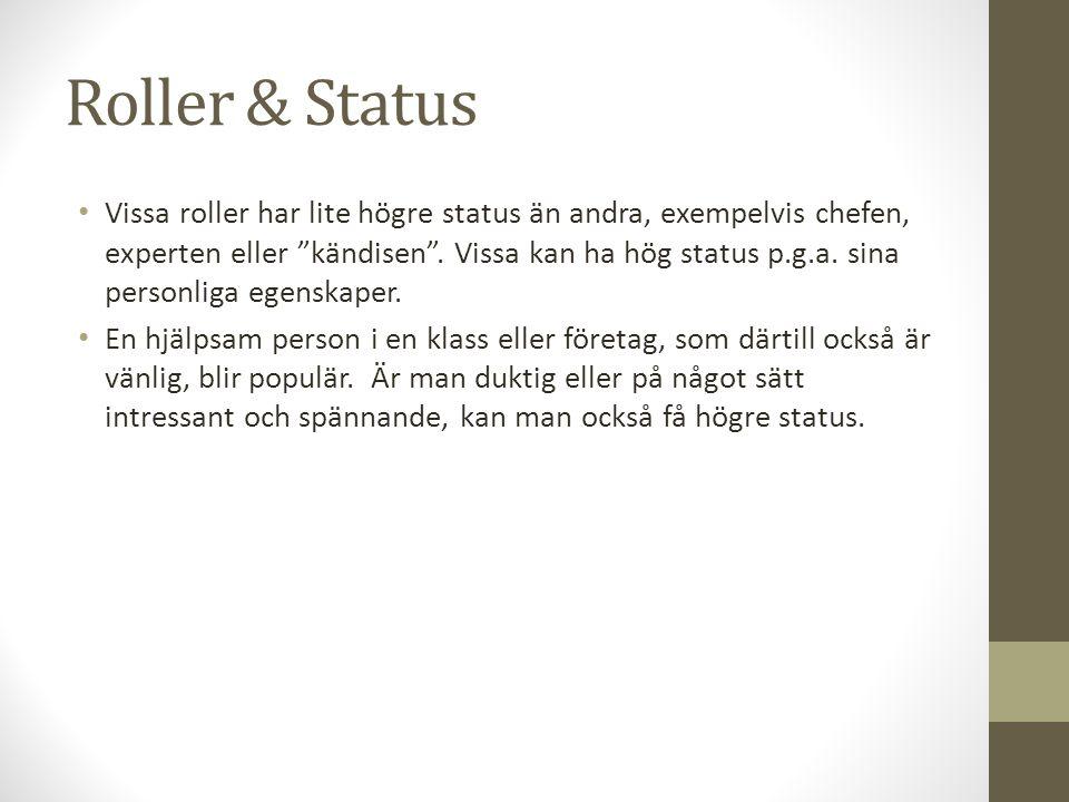 Roller & Status