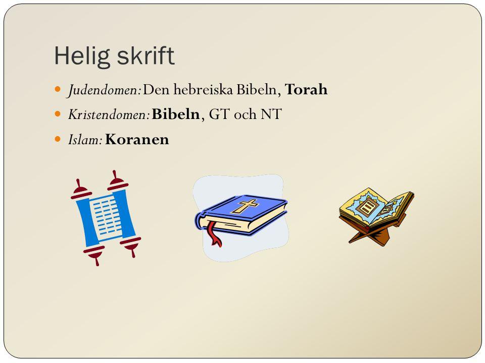 Helig skrift Judendomen: Den hebreiska Bibeln, Torah