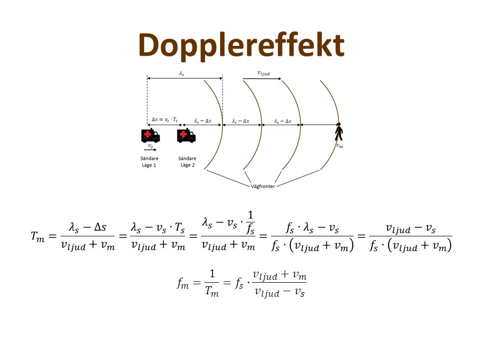 Dopplereffekt Experiment