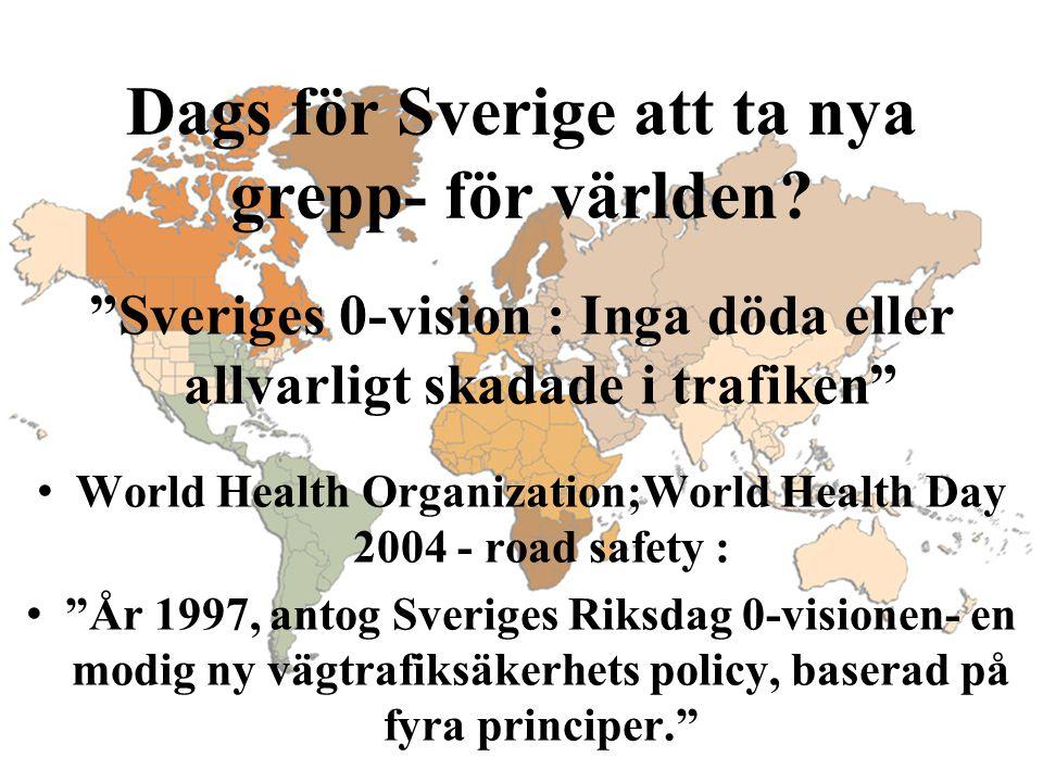 Dags för Sverige att ta nya grepp- för världen