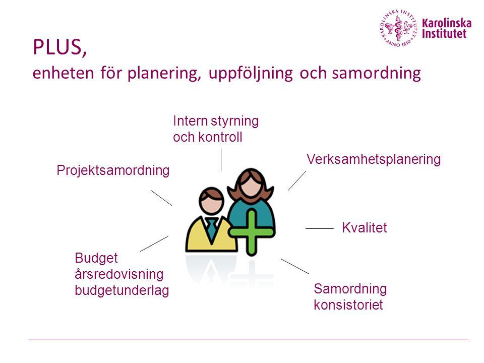 PLUS, enheten för planering, uppföljning och samordning