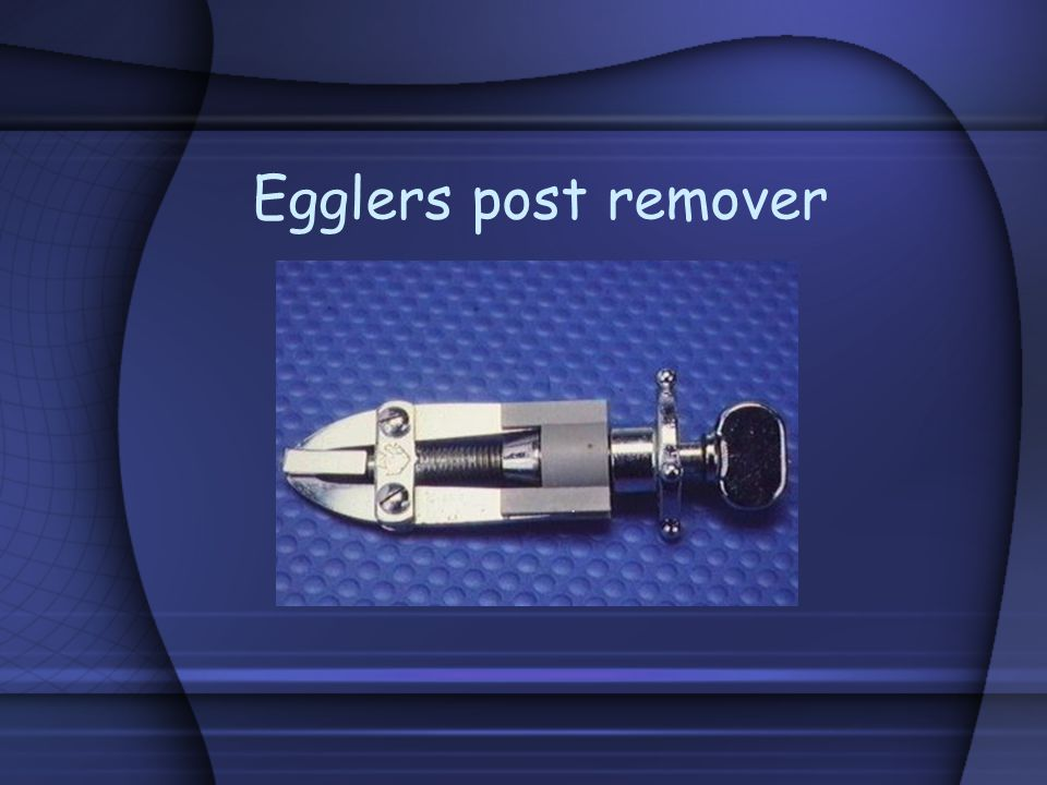 Egglers post remover