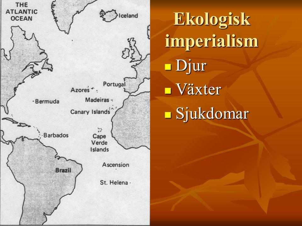 Ekologisk imperialism