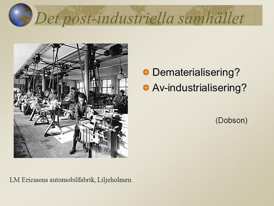 Det post-industriella samhället