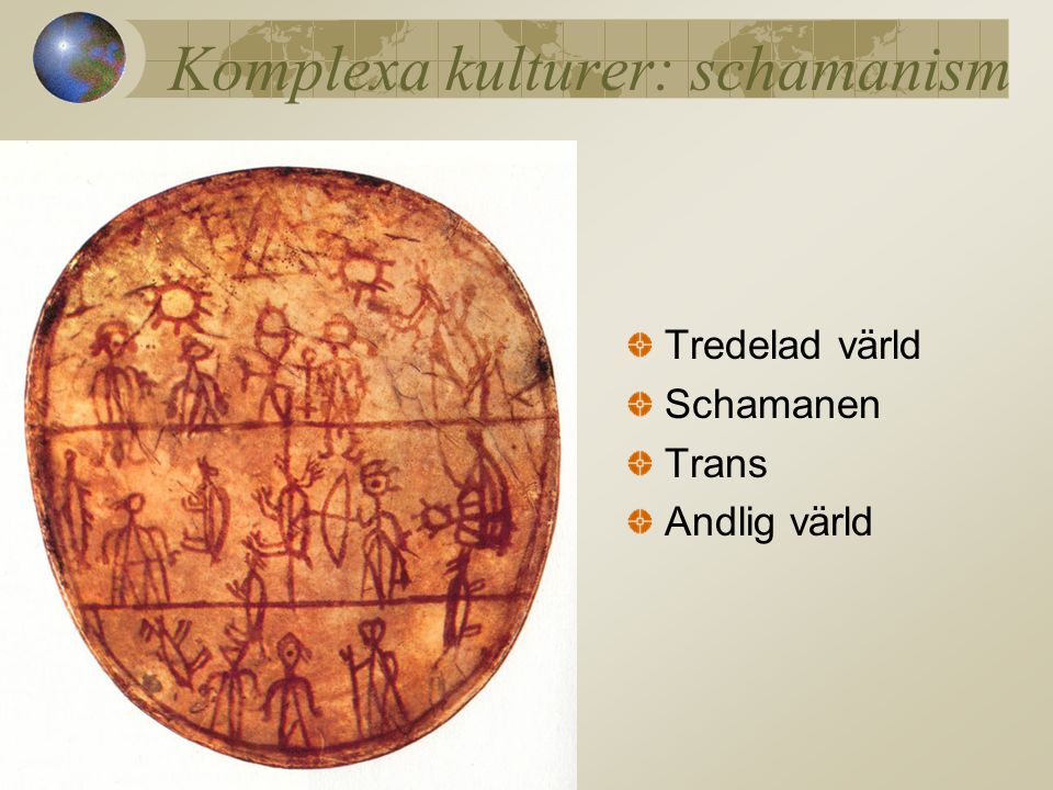 Komplexa kulturer: schamanism
