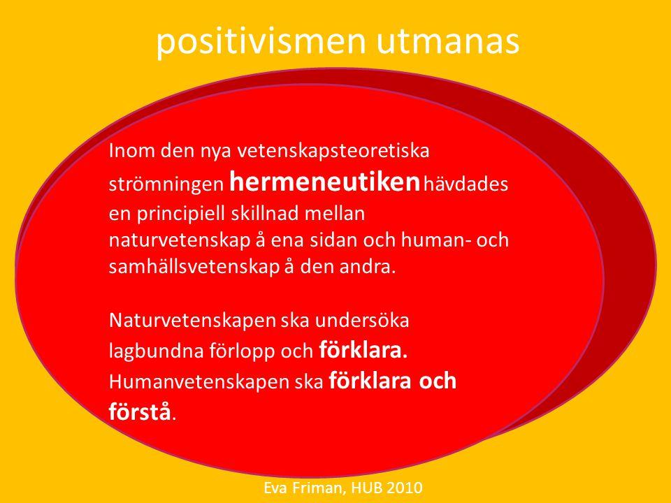 positivismen utmanas