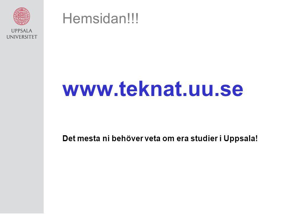 www.teknat.uu.se Hemsidan!!!