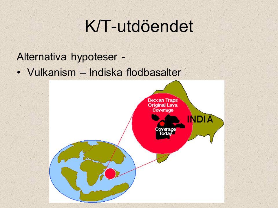 K/T-utdöendet Alternativa hypoteser - Vulkanism – Indiska flodbasalter
