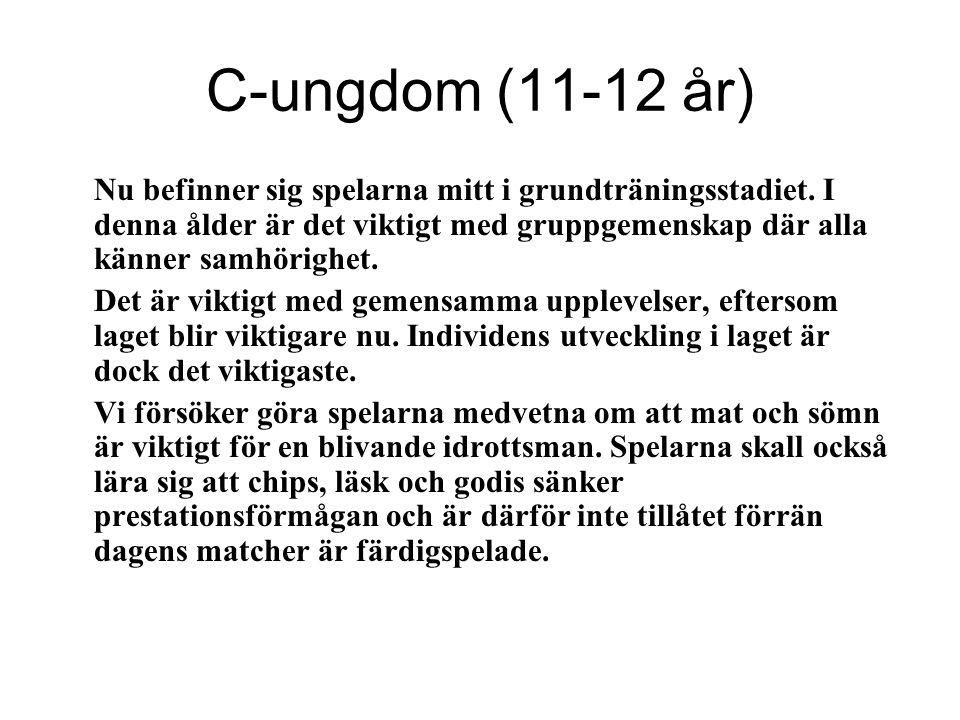 C-ungdom (11-12 år)