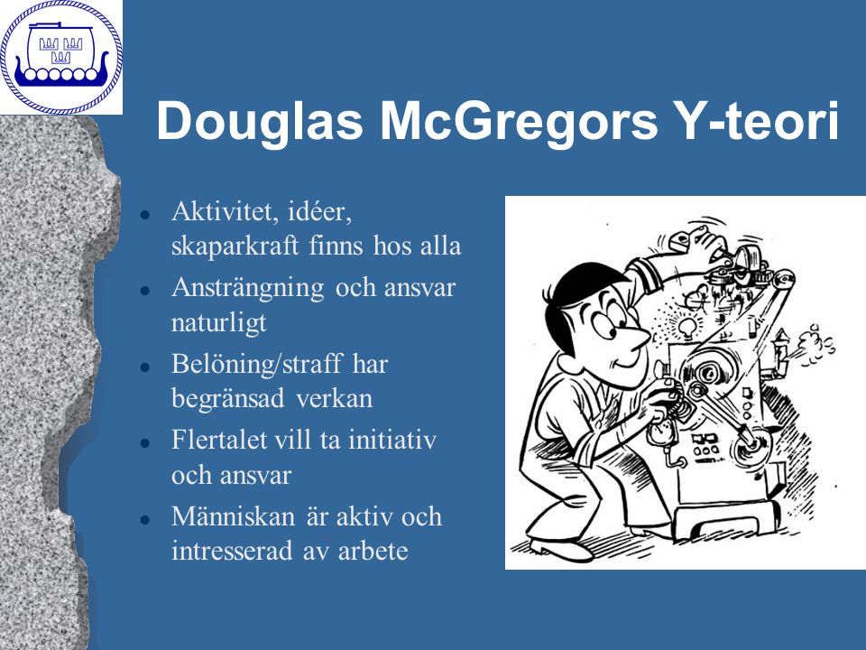 Douglas McGregors Y-teori