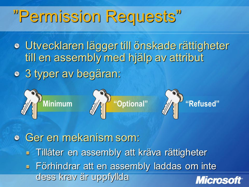 Permission Requests