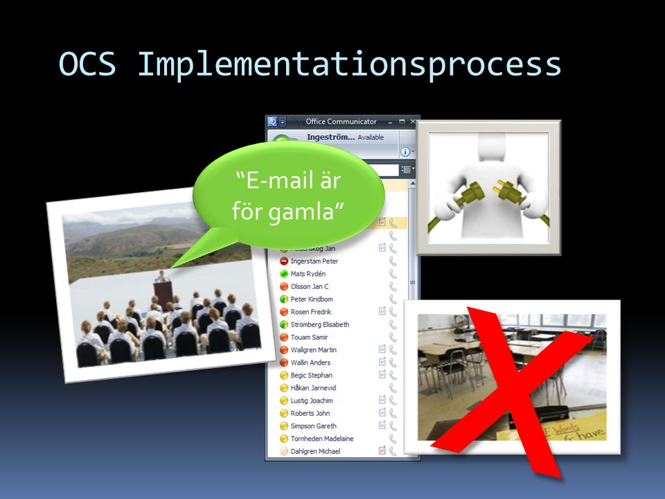 OCS Implementationsprocess