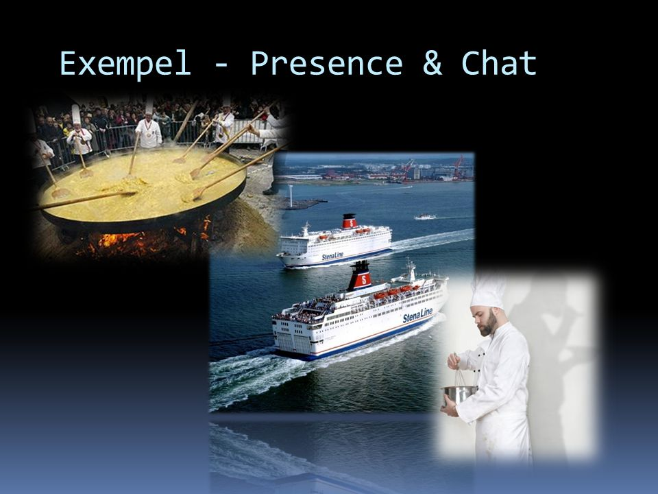 Exempel - Presence & Chat