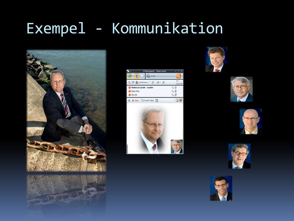 Exempel - Kommunikation