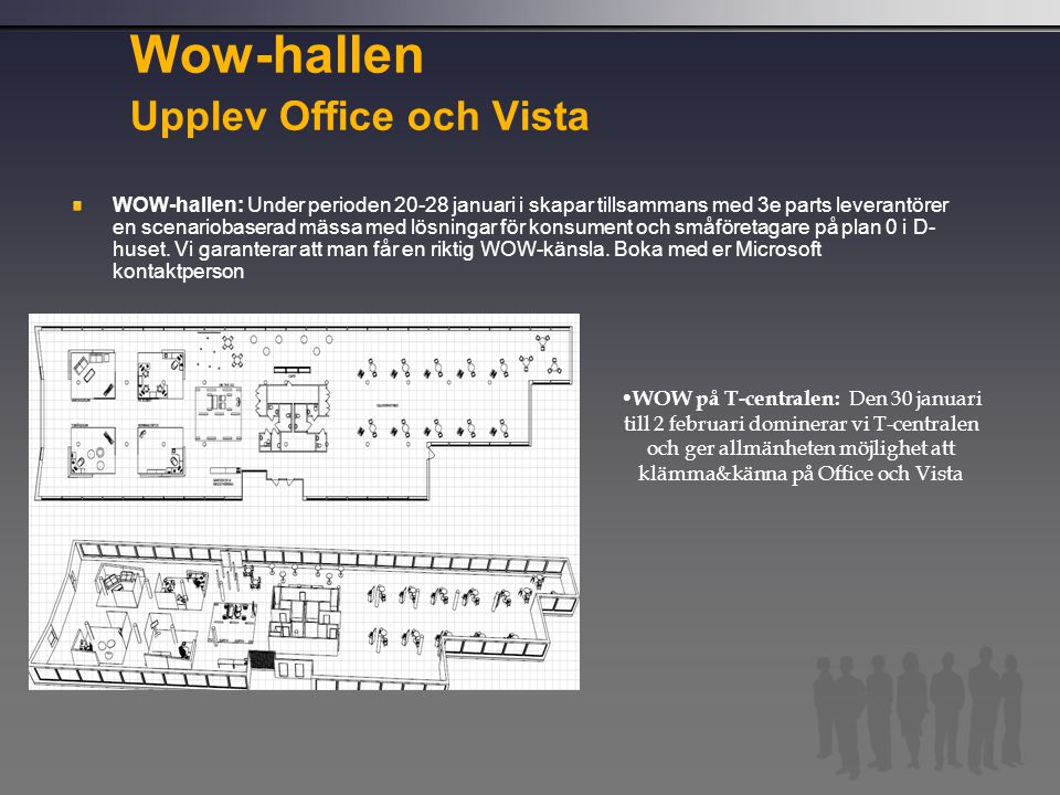 Wow-hallen Upplev Office och Vista