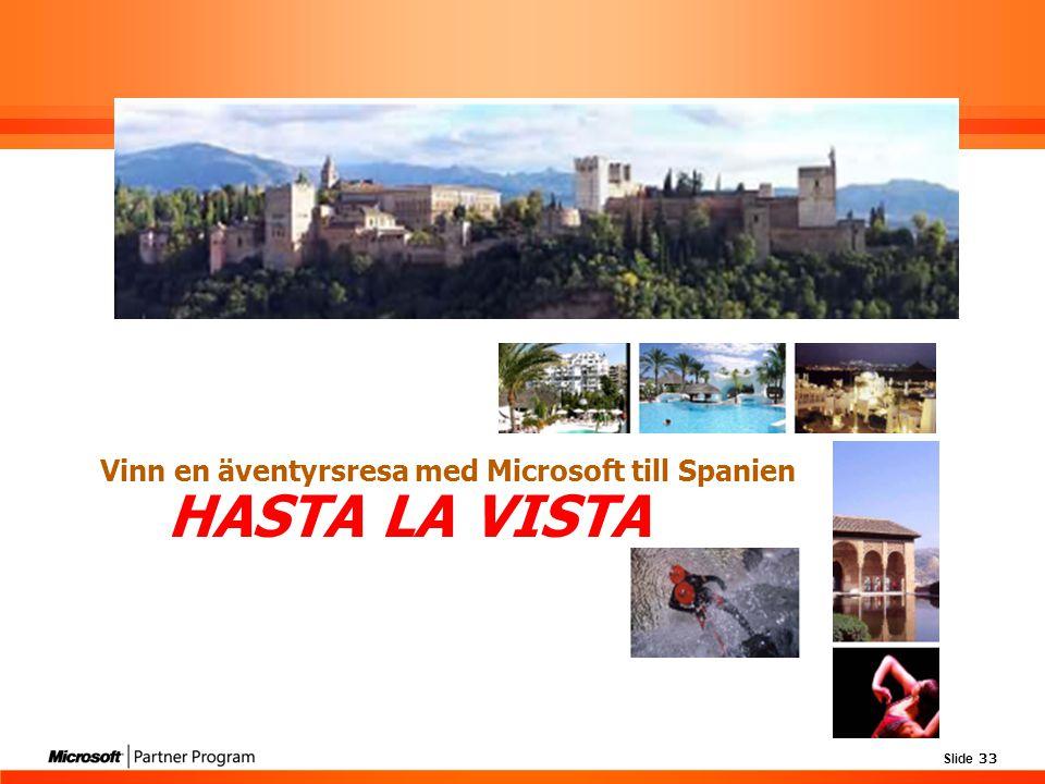 Vinn en äventyrsresa med Microsoft till Spanien