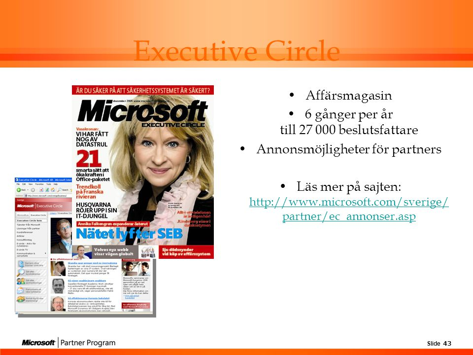 Executive Circle Affärsmagasin
