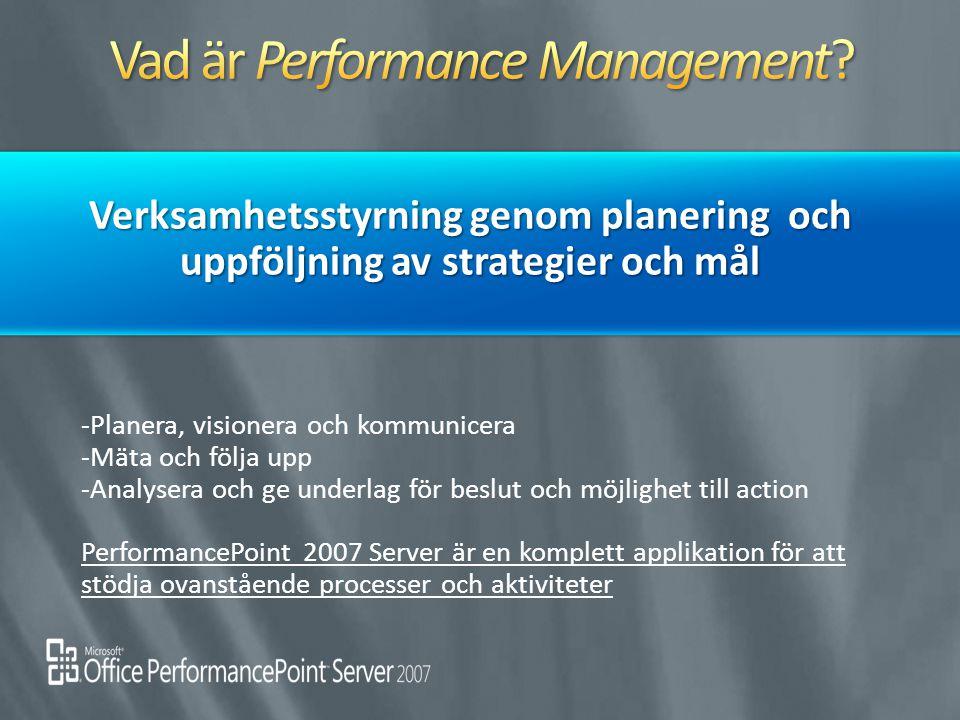Vad är Performance Management