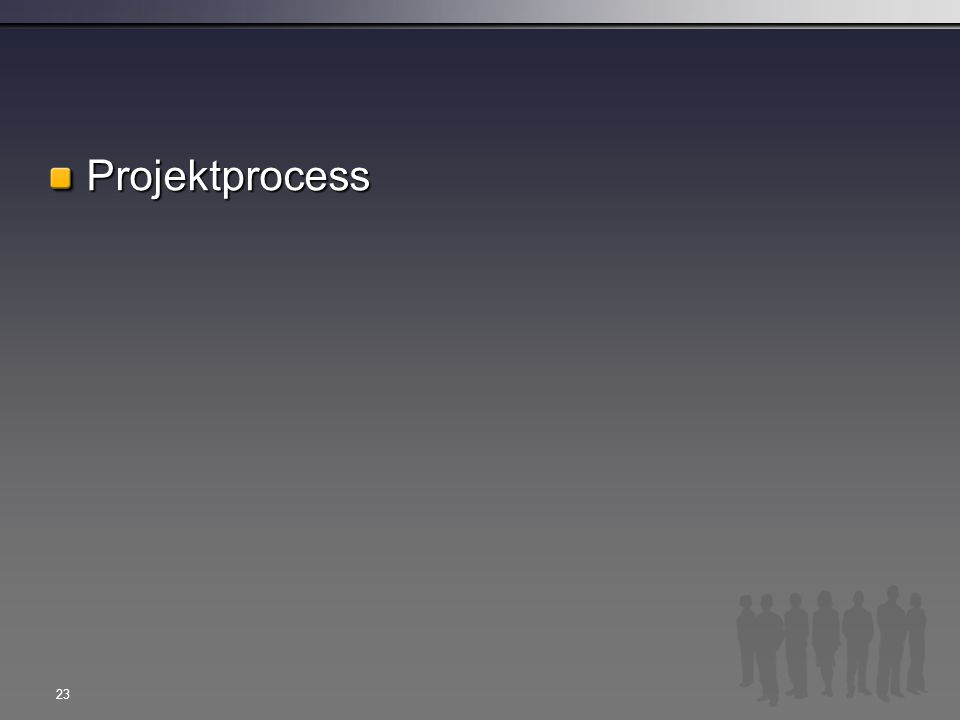 Projektprocess