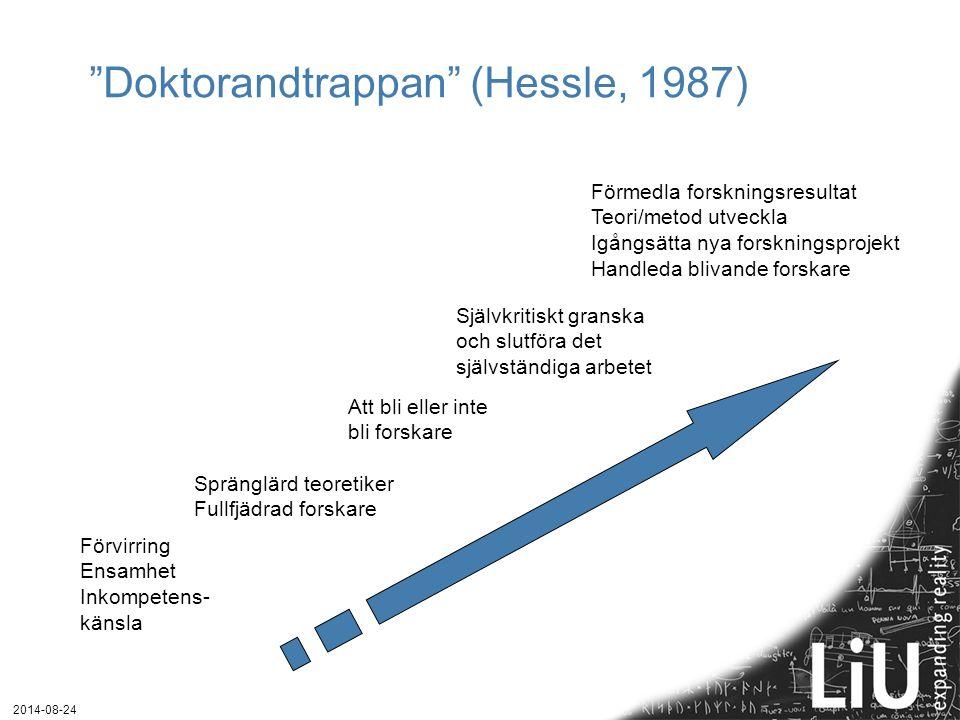 Doktorandtrappan (Hessle, 1987)