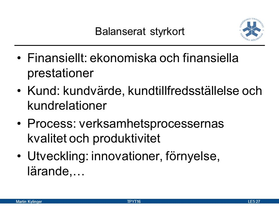 Finansiellt: ekonomiska och finansiella prestationer