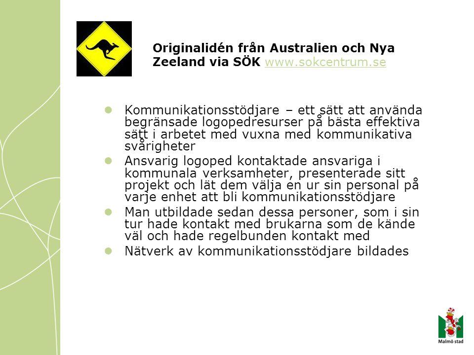 Originalidén från Australien och Nya Zeeland via SÖK www.sokcentrum.se