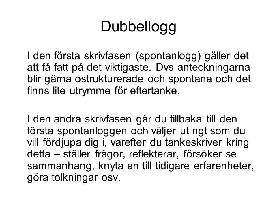Dubbellogg