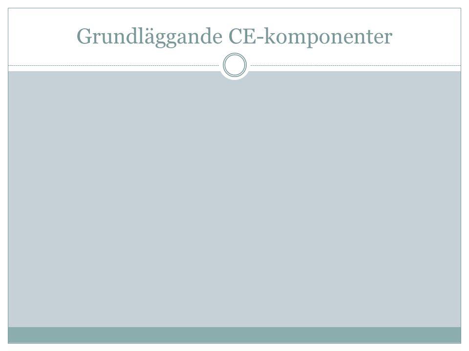 Grundläggande CE-komponenter