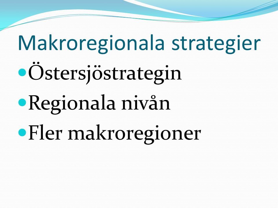 Makroregionala strategier