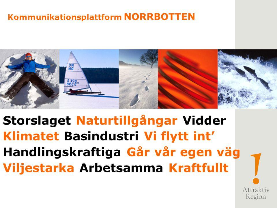 Storslaget Naturtillgångar Vidder Klimatet Basindustri Vi flytt int'