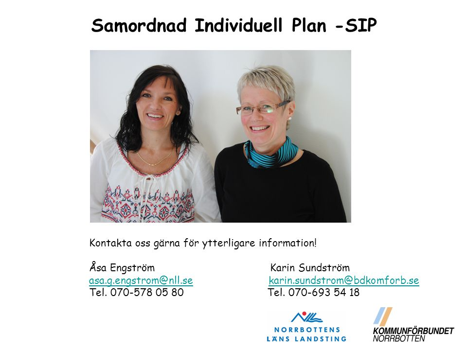Samordnad Individuell Plan -SIP