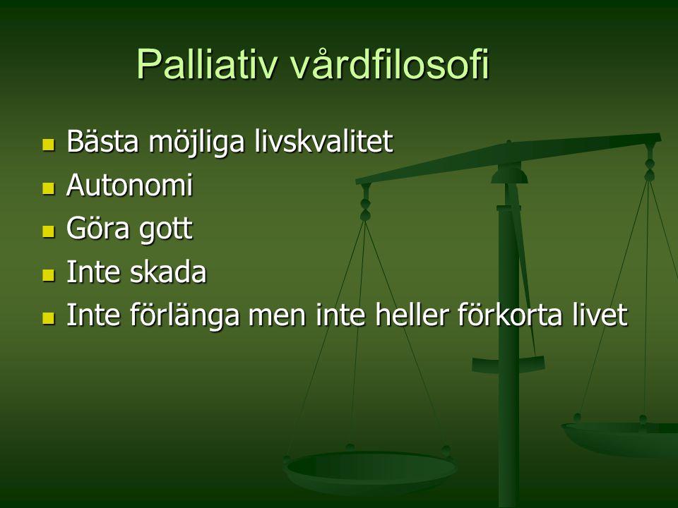 Palliativ vårdfilosofi