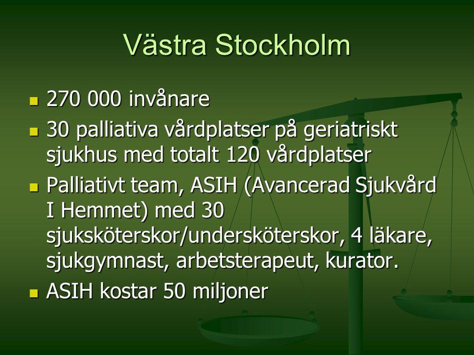 Västra Stockholm 270 000 invånare