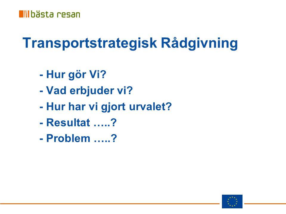Transportstrategisk Rådgivning