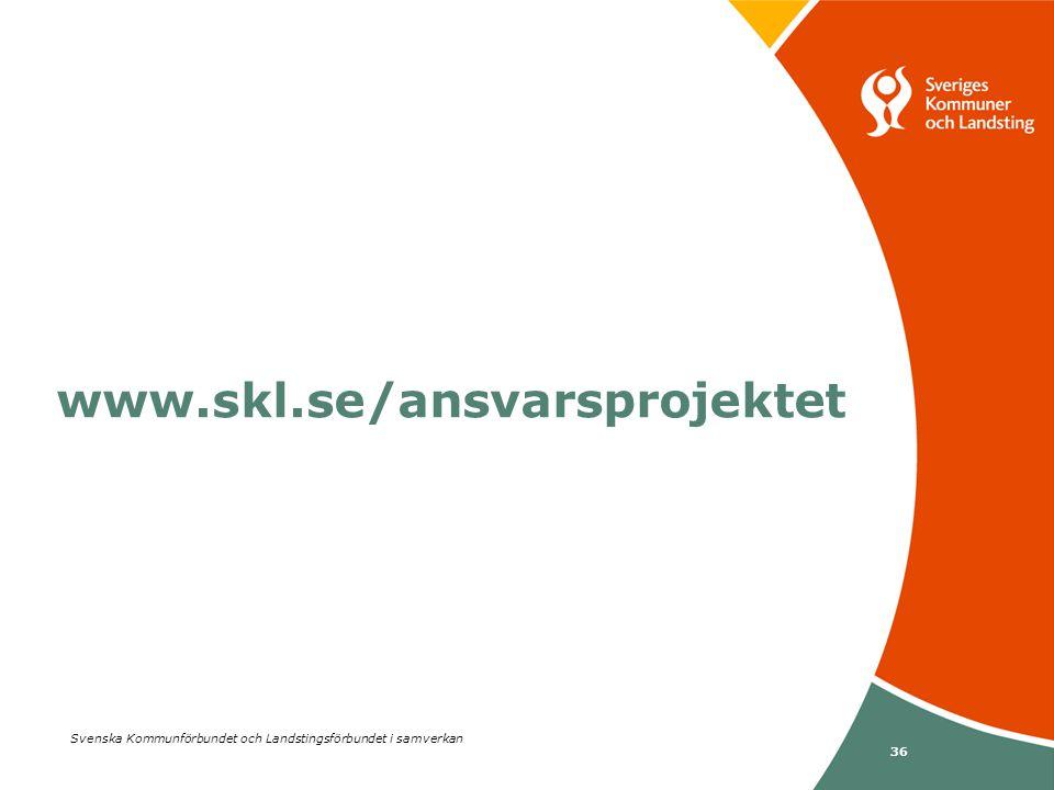 www.skl.se/ansvarsprojektet