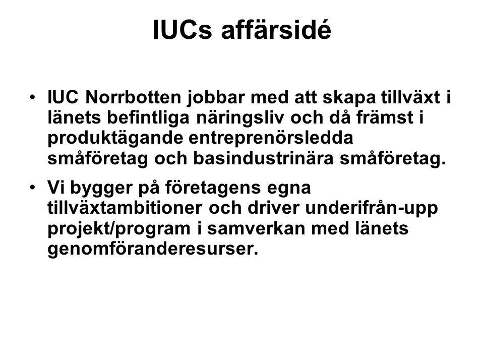 IUCs affärsidé
