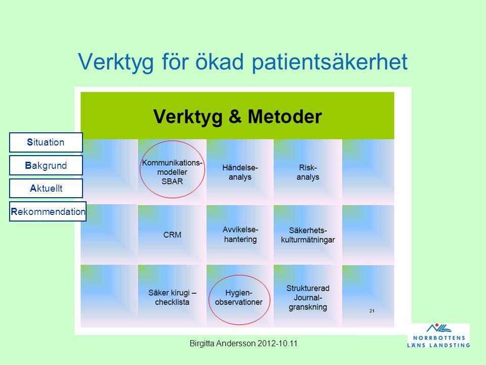 Verktyg för ökad patientsäkerhet